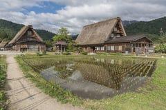Villaggio nel Giappone Immagine Stock Libera da Diritti