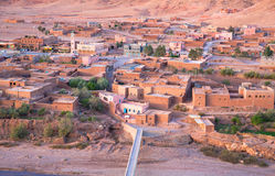Villaggio nel Marocco fotografia stock