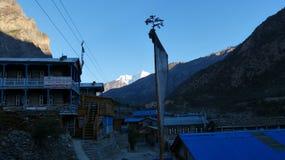 Villaggio nel Nepal Immagini Stock Libere da Diritti