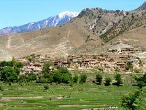 Villaggio nell'Afghanistan Immagine Stock