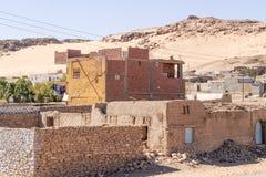 Villaggio nell'Egitto Immagini Stock