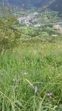 Villaggio nella distanza Fotografia Stock Libera da Diritti
