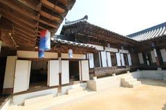 Villaggio nelle gente di Seoul in Corea del Sud Immagine Stock Libera da Diritti