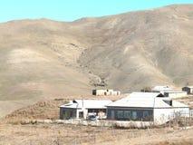 Villaggio nelle montagne Immagine Stock Libera da Diritti