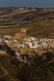 Villaggio nelle montagne dell'Andalusia Fotografia Stock