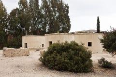 Villaggio neolitico nel Cipro Choirokoitia Immagini Stock