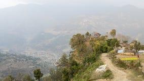 Villaggio nepalese Immagine Stock