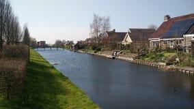 Villaggio Olanda di Woghnum Fotografie Stock