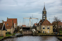 Villaggio olandese Fotografia Stock Libera da Diritti