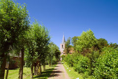 Chiesa olandese Fotografie Stock