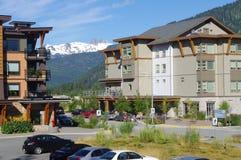 Villaggio olimpico di Whistler Immagine Stock Libera da Diritti