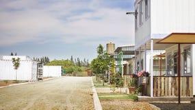 Villaggio Orania di Eco fotografia stock