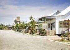 Villaggio Orania di Eco fotografia stock libera da diritti