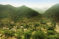 Villaggio a Pechino Fotografia Stock Libera da Diritti