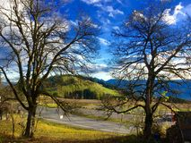 Villaggio perfetto Fotografia Stock Libera da Diritti
