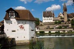 Villaggio pittoresco vicino a Lucerna Svizzera Fotografie Stock