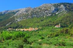 Villaggio Pitve Fotografia Stock