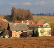 Villaggio polacco Fotografie Stock Libere da Diritti
