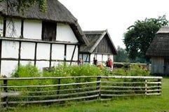 Villaggio polacco Immagine Stock Libera da Diritti
