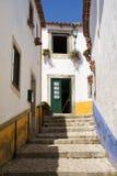 Villaggio Portogallo di Obidos Fotografia Stock