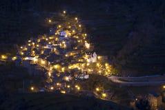 Villaggio portoghese di Piodão Fotografie Stock Libere da Diritti