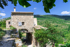 Villaggio in Provenza Fotografia Stock
