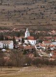 Villaggio-Rametea rumeno Fotografia Stock Libera da Diritti