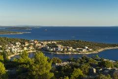 Villaggio Razanj Croazia Fotografie Stock Libere da Diritti