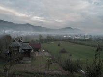 Villaggio rumeno Fotografie Stock