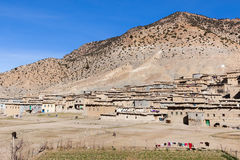 Villaggio rurale di berbero nel Marocco Fotografie Stock