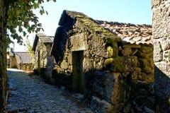 Villaggio rurale in parco nazionale di Peneda Geres fotografia stock libera da diritti
