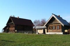 Villaggio russo Fotografia Stock