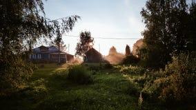 Villaggio russo Immagini Stock