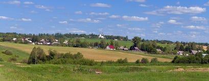 Villaggio russo del paese Immagini Stock