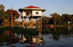 Villaggio in Siem Reap Fotografie Stock