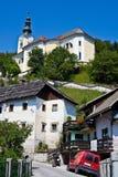 Villaggio sloveno immagini stock libere da diritti