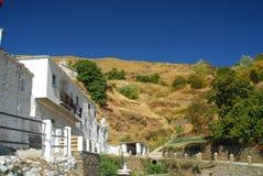 Villaggio spagnolo Immagine Stock
