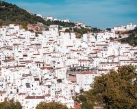 Villaggio spagnolo Immagini Stock Libere da Diritti