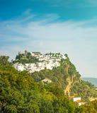 Villaggio spagnolo Fotografie Stock