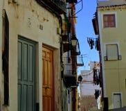 Villaggio spagnolo Fotografia Stock Libera da Diritti