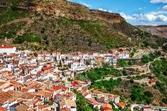 Villaggio spagnolo Chulilla fotografie stock libere da diritti