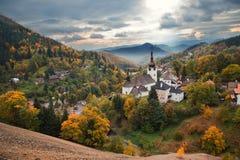 Villaggio Spania Dolina Immagini Stock Libere da Diritti