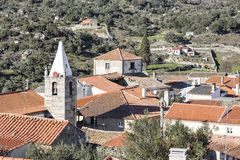 Villaggio storico di Castelo Mendo Immagini Stock Libere da Diritti