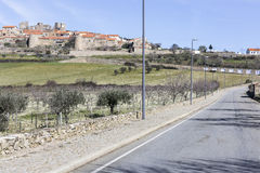 Villaggio storico di Castelo Rodrigo Fotografia Stock