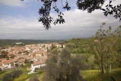 Villaggio storico di Certaldo Florence Tuscany Italy immagine stock libera da diritti