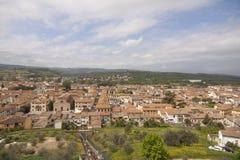 Villaggio storico di Certaldo Florence Tuscany Italy fotografia stock libera da diritti