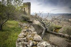 Villaggio storico di Marialva Fotografia Stock
