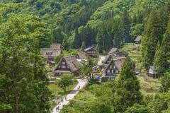 Villaggio storico nel Giappone Immagine Stock Libera da Diritti