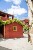 Villaggio su Corfù fotografie stock libere da diritti