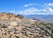 Villaggio sulla collina Immagine Stock Libera da Diritti
